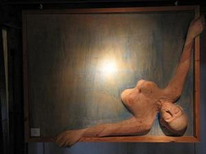 Traum<br />Holz  (2009)<br />130 x 102 x 16